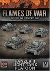 Flames of War - Panzer II Tank Platoon