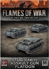 Flames of War - StuG (Early) Assault Gun Platoon