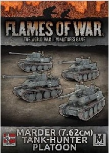 Flames of War - GBX110 Marder (7.62cm) Tank-hunter Platoon