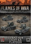 Flames of War - SdKfz 10/4 Light AA Platoon Platoon