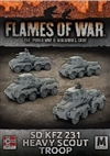 Flames of War - GBX113 Sd Kfz 231 Heavy Scout Troop