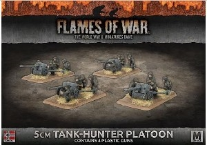 Flames of War - GBX115 5cm Tank-Hunter Platoon (Plastic)