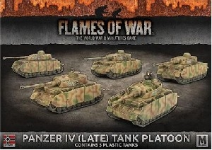 Flames of War - Panzer IV (Late) Platoon