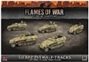 Flames of War - GBX124 Sd Kfz 251/C Halftracks plastic