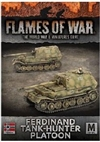 Flames of War - Ferdinand Tank Hunter Platoon