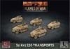 Flames of War - GBX129 SdKfz 250 Transports plastic