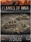 Flames of War - SdKfz 7/1 Quad AA Platoon