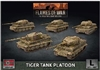 Flames of War - GBX140 Tiger Tank Platoon (Late War) Plastic