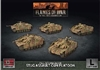 Flames of War - GBX143 Fallschirmjager StuG (Late) Assault Gun Platoon plastic