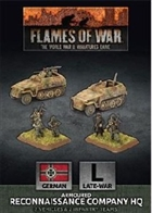 Flames of War - GBX150 Armoured Reconnaisance Company HQ