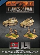 Flames of War - GBX153 Armoured SS Reconaissance Company HQ