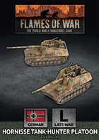 Flames of War - GBX162 Hornisse Tank-Hunter Platoon