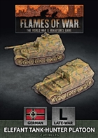 Flames of War - GBX163 Elefant Tank-Hunter Platoon