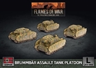 Flames of War - GBX164 Brummbar Assault Tank Platoon
