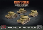 Flames of War - GBX166 Armoured AA Tank Platoon (Plastic)