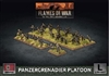 Flames of War - GBX169 Panzergrenadier Platoon plastic