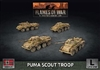 Flames of War - GBX172 Puma Scout Troop plastic