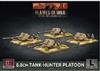 Flames of War - GBX175 8.8cm tank Hunter Platoon plastic