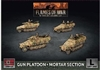 Flames of War - GBX177 Sd Kfz 251 Gun Platoon Mortar Section plastic