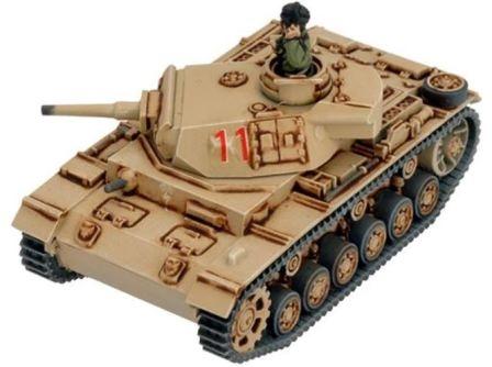 Flames of War - Afrika Korps Panzer III Tank Platoon