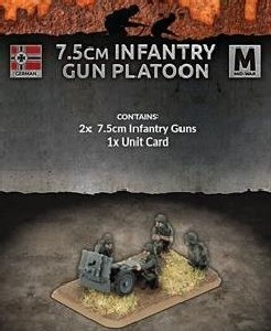 Flames of War - 7.5cm Infantry Gun Platoon