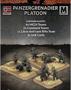 Flames of War - Panzergrenadier Platoon Plastic