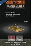 Flames of War - GE797 sMG42 SS Machine-gun Platoon Plastic