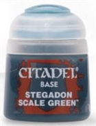 Citadel - Stegadon Scale Green Base Paint 12ml