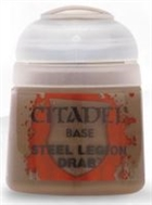 Citadel - Steel Legion Drab Base Paint 12ml