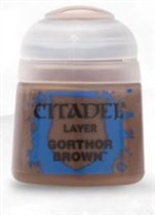 Citadel - Gorthor Brown Layer Paint 12ml