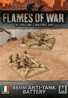 Flames of War - IBX13 Italian 88mm Anti-Tank Battery Plastic