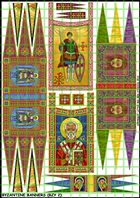 Little Big Men Studios Decals - Byzantine Banners 2