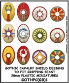 LBMS - Gripping Beast Plastic Late Roman Cavalry/Gothic Shield Designs 1