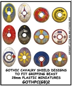 LBMS - Gripping Beast Plastic Late Roman Cavalry/Gothic Shield Designs 2