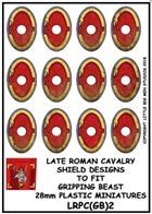 Little Big Men Studios - Gripping Beast Plastic Late Roman Cavalry Shield Designs 2