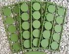Renedra Bases -  ROUND Bases  25mm Diameter  - 50 bases per bag GREEN