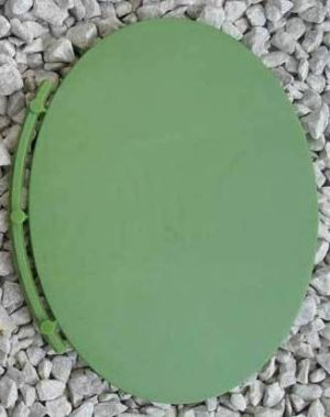 Renedra Bases -  Oval Bases  115mm x 88mm - 4 bases per bag in GREEN.
