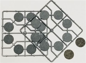 Renedra Bases -  Round Cobblestone effect Bases 30mm