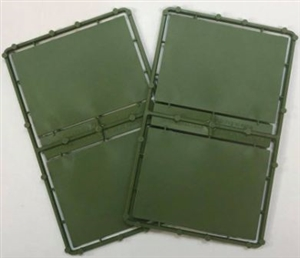 Renedra Bases - 90 x 65mm Artillery bases - 4 per bag