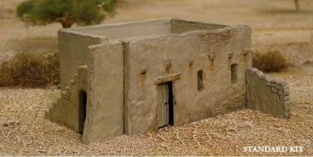 Renedra mud brick house for Mud brick kit homes