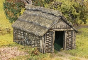 Renedra - Dark Ages/Medieval Wattle Outbuilding