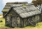 Renedra - Dark Ages/Medieval Wattle and Daub Outbuilding