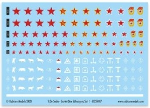 Rubicon Models - Soviet Star and Insignia Set