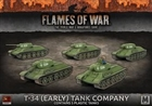Flames of War - SBX39 T-34 (Early) Tank Company