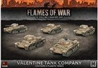 Flames of War - SBX41 Valentine Tank Company