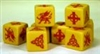 Saga - YELLOW DICE - Welsh / Strathclyde (8)