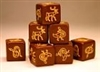 Saga - BROWN DICE - Scots / Irish / Steppe (8)