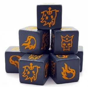 Saga (2nd Edition) - Age Of Magic Chaos Dice PRE-ORDER