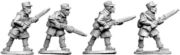 WW2 French Foreign Legion II 4 28mm metal Artizan Design Bolt Action