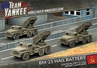 Team Yankee - BM-21 Hail Rocket Launcher Battery (x3)